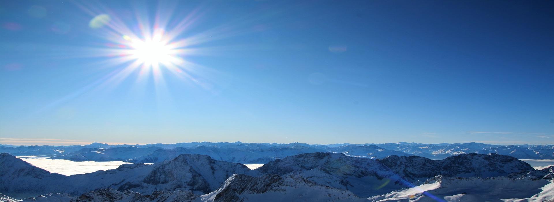 Zugspitze and Innsbruck