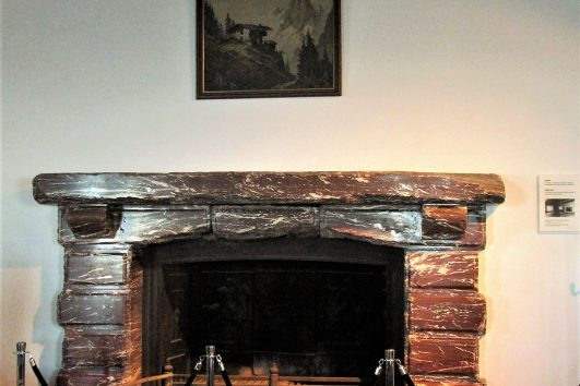 Eagle's nest fireplace